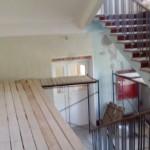 Ремонт лестницы в нежилом здании