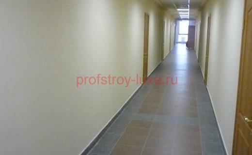 Завершённые работы в здании МЖД по адресу: г. Москва, ул. Красной Сосны, дом 2,стр.2.(4-этаж)